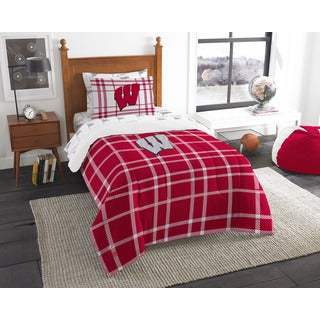 The Northwest Company COL 845 Wisconsin Twin 5-piece Bed in a Bag with Sheet Set
