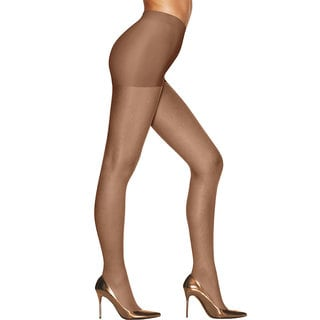 Silk Reflections Women's Sunkissed Ultra Sheer Control Top Tan Bronze Pantyhose