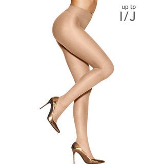 Silk Reflections Women's Sunkissed Ultra Sheer Smoothing Thong Light Bronze Pantyhose
