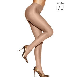 Hanes Women's Silk Reflections Sunkissed Medium Bronze Nylon/Spandex Ultra Sheer Smoothing Thong