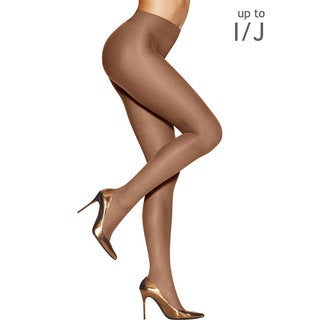 Hanes Women's Silk Reflections Sunkissed Tan Bronze Nylon/Spandex Ultra Sheer Smoothing Thong