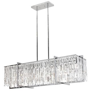 Dainolite Polished Chrome Crystal 9-light Horizontal Chandelier|https://ak1.ostkcdn.com/images/products/12131929/P18989334.jpg?impolicy=medium