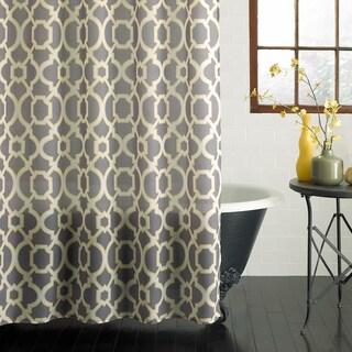 Excell Geo Lattice Shower Curtain