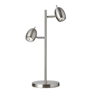 Dainolite 2-light Adjustable Steel Table Lamp