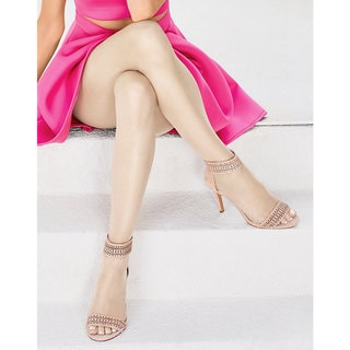 Silk Reflections Women's Ultra Sheer Toeless Control Top Pantyhose Natural