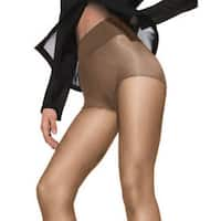 Silk Reflections Women's Waist Smoother Extended CT Barely There Pantyhose