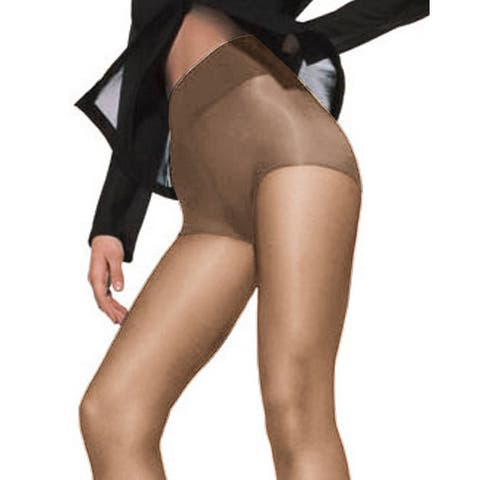 Silk Reflections Womens Waist Smoother Extended CT Barely There Pantyhose