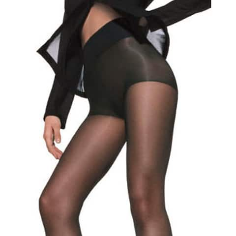 Silk Reflections Women's Waist Smoother Extended CT Jet Pantyhose