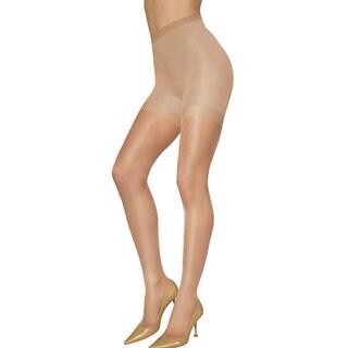Silken Women's Mist Shaper Nude Pantyhose