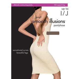 Smooth Illusions Women's Ultimate Contouring Pantyhose Barely There