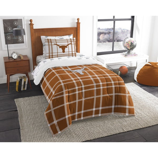The Northwest Company COL 845 Texas Twin 5-piece Bed in a Bag with Sheet Set