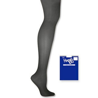 Too Day Sheer Control Women's SF Barely Black Top Pantyhose