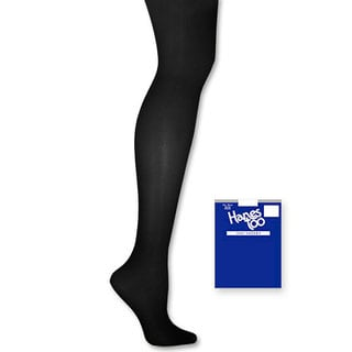 Too Day Sheer Control Women's SF Black Top Pantyhose