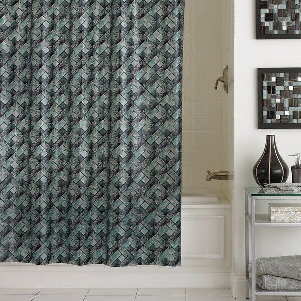 Excell Kimodo 5.5 Gauge PEVA Shower Curtain