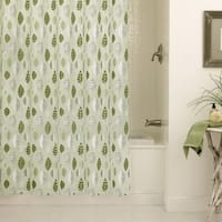 Excell Leaflets Shower Curtain