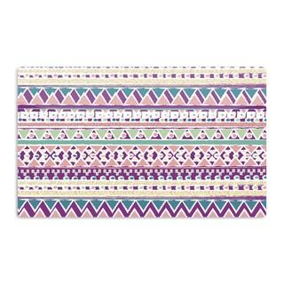 KESS InHouse Nika Martinez 'Boho Ibiza' Pastel Pink Artistic Aluminum Magnet