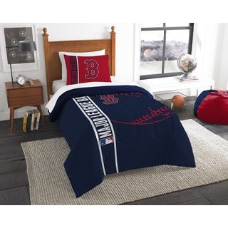 The Northwest Company MLB Boston Red Sox Twin 2-piece Comforter Set