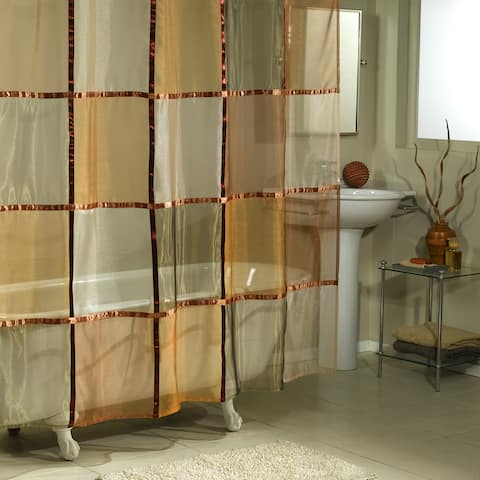 Excell Mosaic Shower Curtain