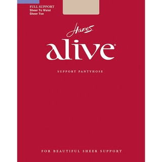 Alive Women's Sheer to Waist Pantyhose Travel Buff