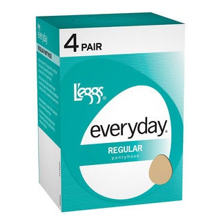 Everyday Women's Regular ST Suntan Pantyhose (Pack of 4)