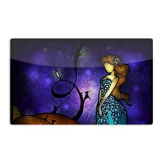 KESS InHouse Mandie Manzano 'Cinderella' Artistic Aluminum Magnet