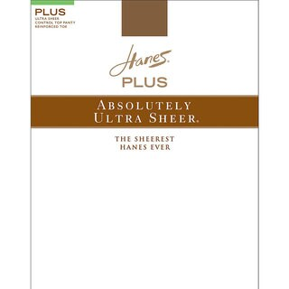 Hanes Plus Women's Absolutely Brown Nylon/Spandex Top Reinforced Toe Pantyhose (Option: 2p)|https://ak1.ostkcdn.com/images/products/12132149/P18990229.jpg?_ostk_perf_=percv&impolicy=medium