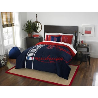 The Northwest Company MLB 836 Red Sox Full 3-piece Comforter Set