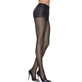 Silk Reflections Women's Lasting Sheer Control Top Pantyhose Jet