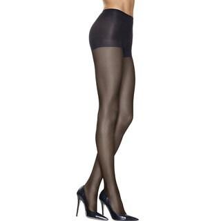 Silk Reflections Women's Lasting Sheer Control Top Pantyhose Jet
