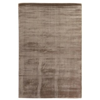 Exquisite Rugs Super Gem Mink Viscose from Bamboo Silk Rug (10' x 14')