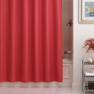 Excell Pierce Microfiber Shower Curtain Liner