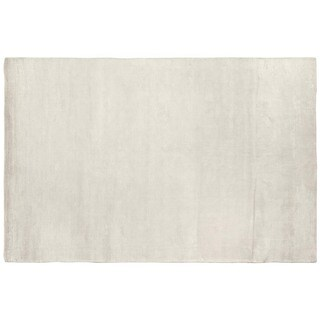 Exquisite Rugs Swell White Viscose Rug