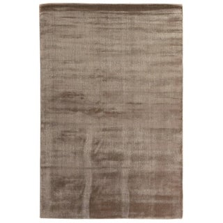 Exquisite Rugs Super Gem Mink Rayon Silk from Bamboo Rug (9' x 12')