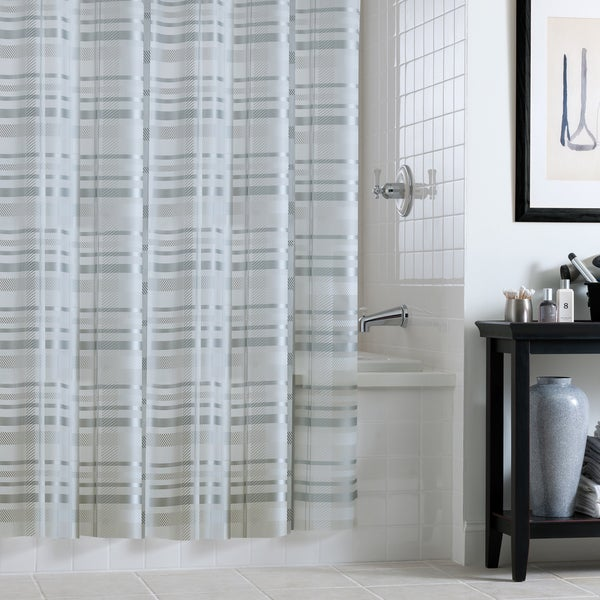 Shop Excell Tartan Plaid Shower Curtain - Free Shipping On Orders ...
