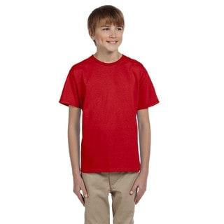 Boy's Red Ultra Cotton T-Shirt