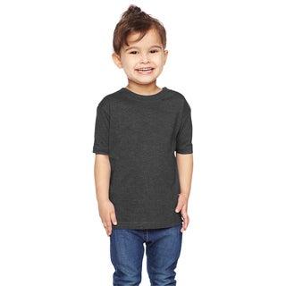 Vintage Heathered Fine Boy's Jersey T-shirt Vintage Smoke