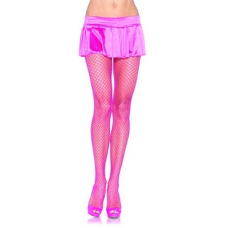 Spandex Industrial Net Pantyhose (Option: Pink)