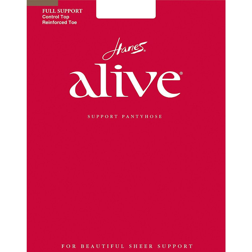 HANES Alive Women's Barely There Full Support Control Top...