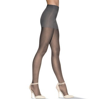 Silk Reflections Women's Pure Bliss Ultra Sheer Pantyhose Barely Black