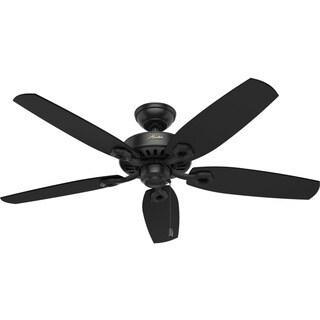 """Hunter Fan Builder Elite ENERGY STAR - 52"""" Ceiling Fan - Black"""