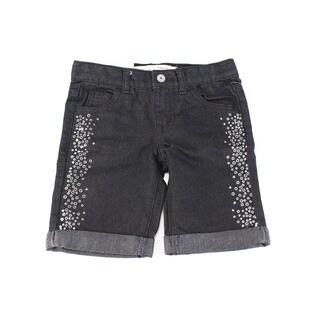 Epic Threads Baby Girls' Black Cotton Size 4T Shorts