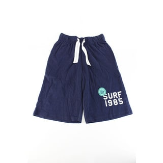 Tommy Hilfiger Boys' Blue Cotton Small Shorts