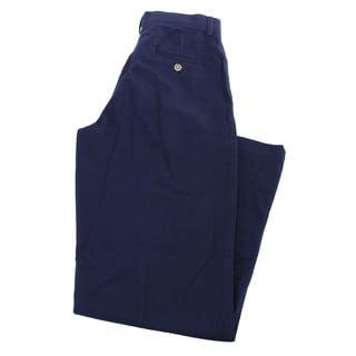 Nautica Boys' Blue Cotton Dress Pants