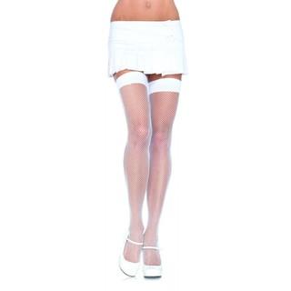 Nylon Fishnet Thigh-high Stockings