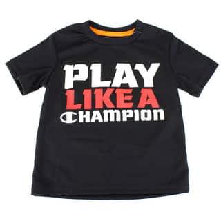 Black Champion Boy's Solid Black Top|https://ak1.ostkcdn.com/images/products/12133253/P18990558.jpg?impolicy=medium