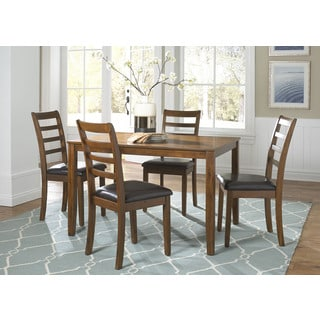 Tucson Dining II Contemporary Oak Finish 5 Piece Dinette Set