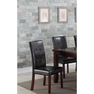 Lyke Home Elijah Brown Side Chair