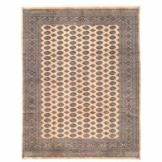 Herat Oriental Pakistani Hand-knotted Bokhara Wool Rug (8'11 x 11'9)