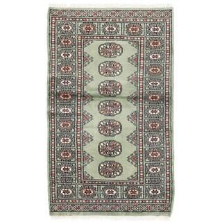 Herat Oriental Pakistani Hand-knotted Bokhara Wool Rug (2'6 x 4'2)