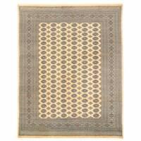 Handmade Herat Oriental Pakistani Bokhara Wool Rug (Pakistan) - 8'11 x 11'7